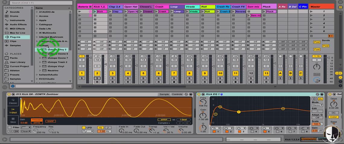 curso mixagem